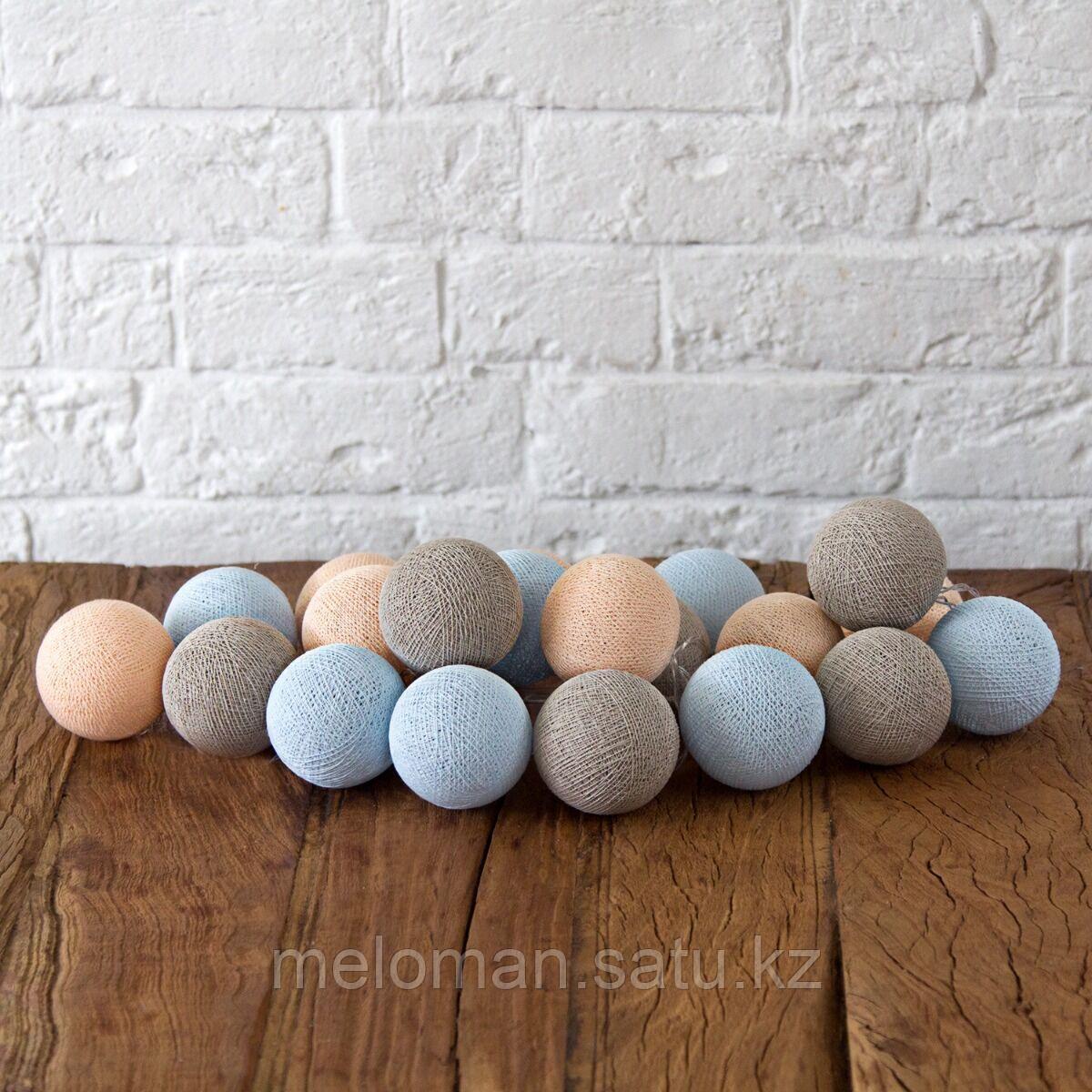 Гирлянда декоративная Мила 20 шаров/сеть - фото 1