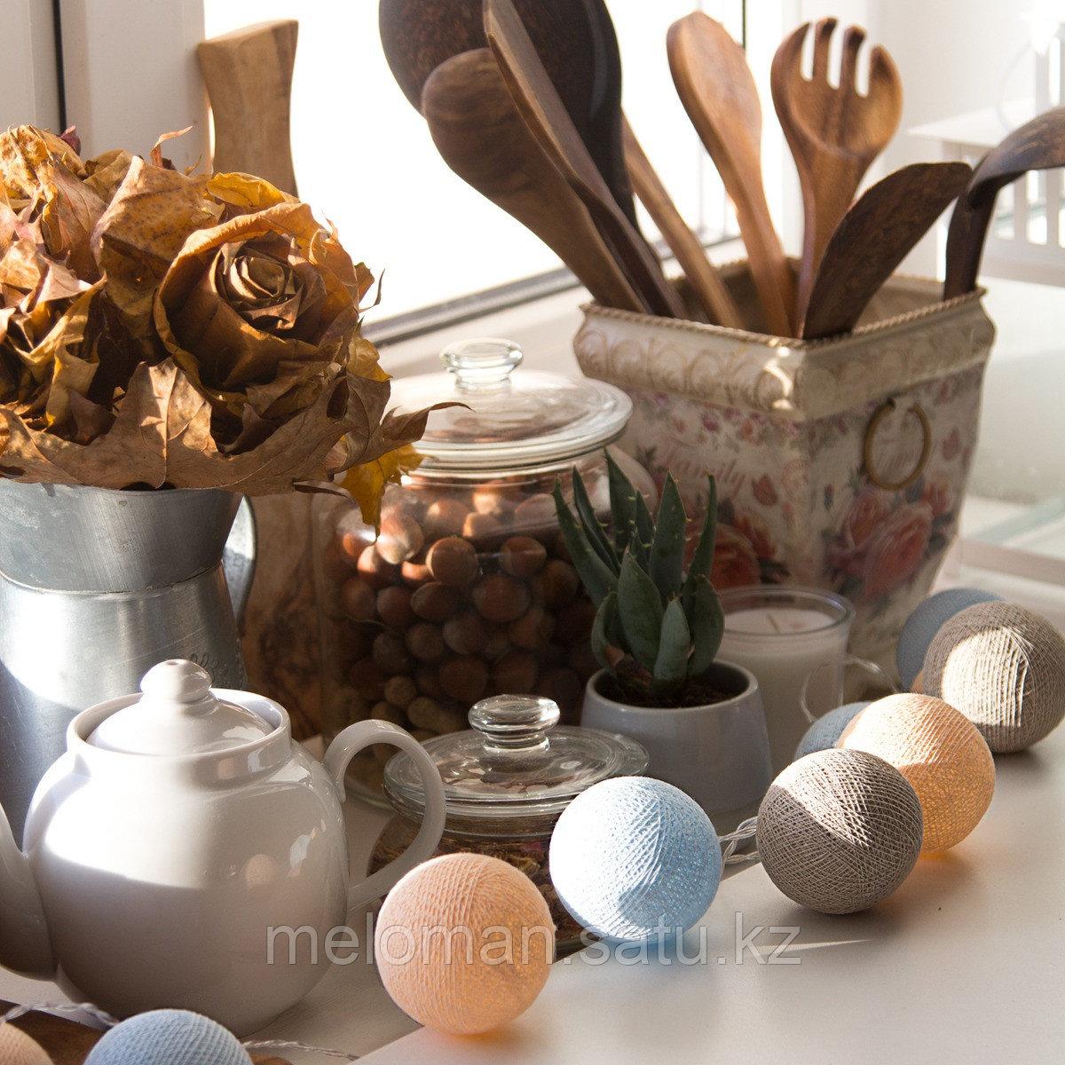 Гирлянда декоративная Мила 20 шаров/сеть - фото 3