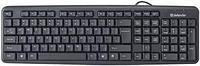 Клавиатура проводная Defender Element HB-520 PS/2 RU,черный