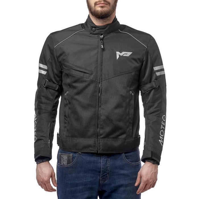 Куртка текстильная AIRFLOW черная, S