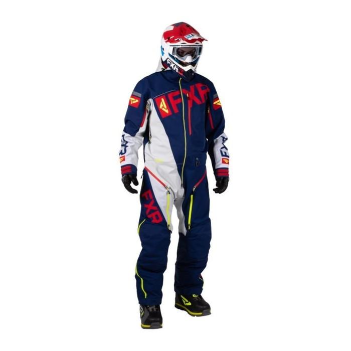 Комбинезон FXR Ranger Instinct без утеплителя, размер 2XL, синий, красный, белый, жёлтый