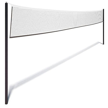 Сетка для волейбола, нить 2,8 мм, ячейки 100 х 100 мм, цвет белый, 9,5 х 1 м