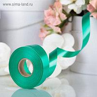 Лента для декора и подарков, ярко-зеленый, 2 см х 45 м
