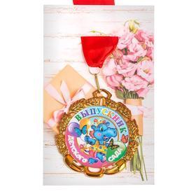 Медаль с лентой 'Выпускник детского сада', D 70 мм - фото 4