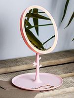 Зеркало косметическое для макияжа с подсветкой LED Makeup Mirror