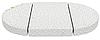 МОНИС СТИЛЬ Комплект матрасов из трех частей  Стандарт ЭКО  125*75*10