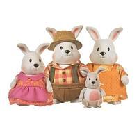 Семья кроликов от «Lil woodzeez