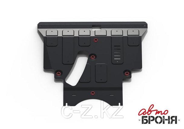 Защита картера + КПП, АвтоБРОНЯ, Сталь, Toyota Ipsum 2001-2009,V - 2.4; полный привод, фото 2