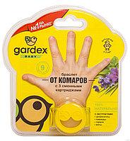 Детский браслет от комаров со сменным картриджем Gardex Baby
