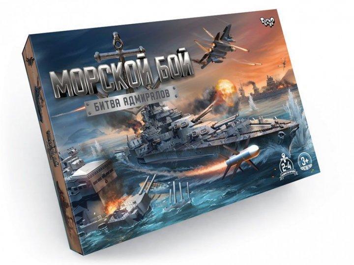 Настольная Игра-ходилка Морской Бой Битва Адмиралов