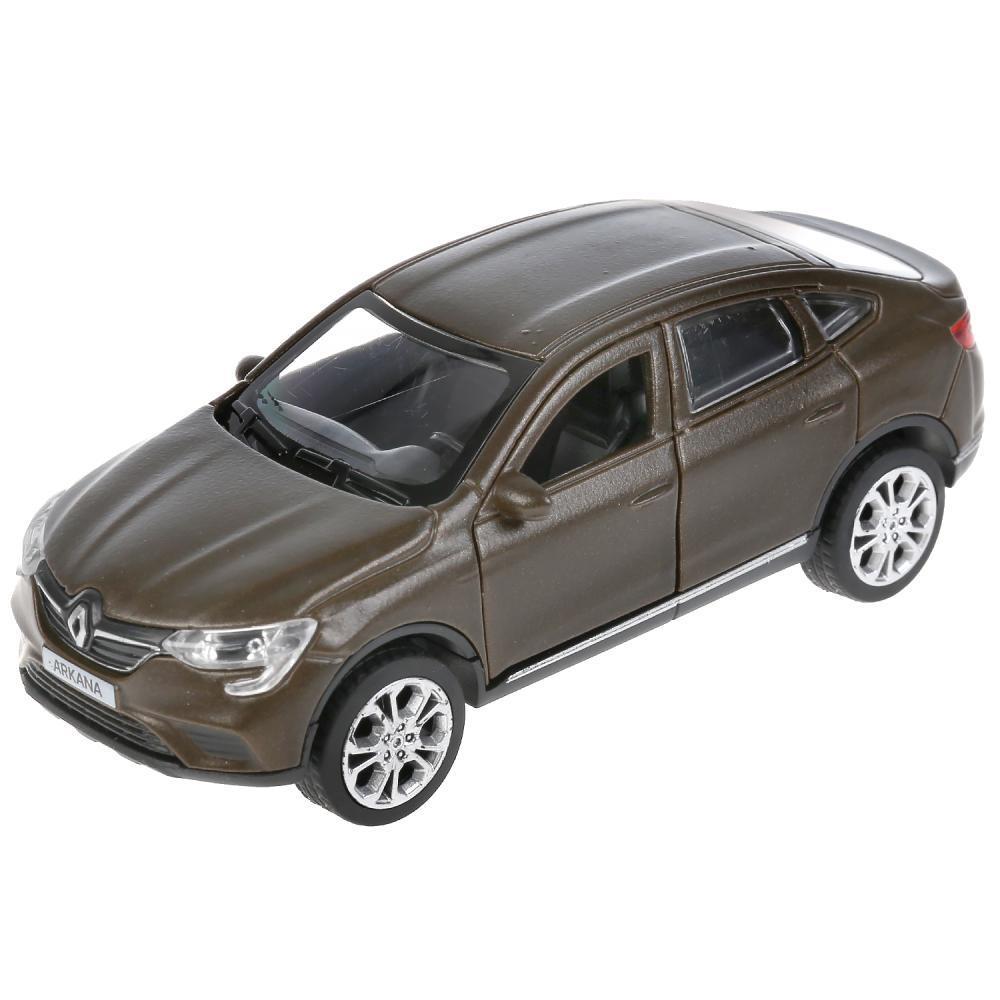 ТехноПарк Металлическая инерционная модель Renault Arkana, 12 см. (звук)