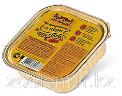 ВЫГОДНО паштет для собак Говядина с овощами 150 гр