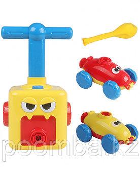 Машинки с надувными шариками