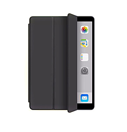 Чехол Smart Case для iPad 10.2 (2019-2020), модели A2197, A2198, A2200, A2270, A2428, A2429, A2430, черный