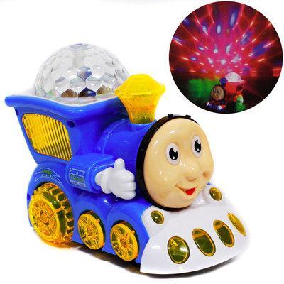 Маленький светящийся поезд