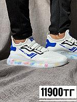 Кроссовки CLT Plus бел син лого разноц 2224-4, фото 1