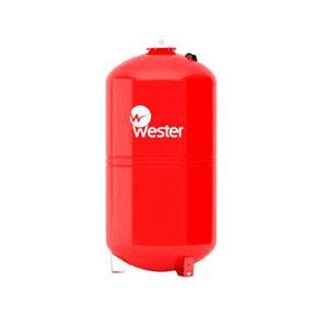 Бак расширительный WRV 100 Wester красный