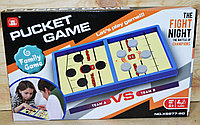 XS977-60 Настольная игра Pucket Came Fighting минни хокей Слинг Шайба 35*22