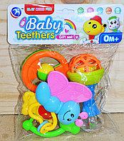 BM6005-4 Набор погремушек Baby Teethers 4 в 1 в пакете 24*20