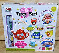1408-A Чайный сервис Paint your own Ceramic Tea Set для раскраски 20*19