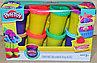 SM8027 Пластилин  Play Toy 8 баночек  21*14