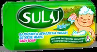 Детское мыло Sabi с экстрактом Зеленого Чая 90гр