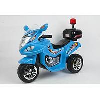 Детский электромотоцикл Bugati синий