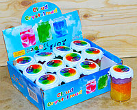 2103-3 Слайм Crystal Mud Радуга 12 шт в упаковке 8*6