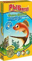 Корм Зоомир Рыбята Фито-меню растительный корм в хлопьях для всех рыб 10 г
