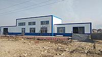 Строительство Пункт Замены Масла ПЗМ в Алматы, утепленные из сэндвич-панелей