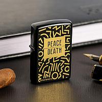 "Зажигалка бензиновая ""Peace death"", 5,5 х 3,5 см"