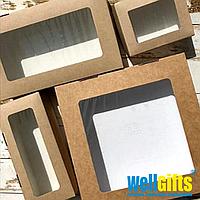 Подарочная картонная упаковка 20х20х4