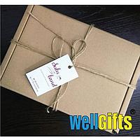 Подарочная коробка из микрогофрокартона 30х20х10 см