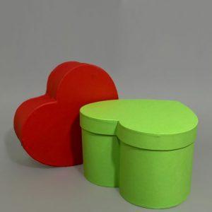 Изготовление подарочных коробок в форме сердец - фото 2