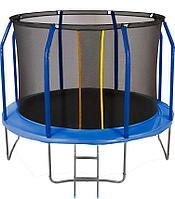 Батут с сеткой и лестницей Jumpy Premium 10ft (300 см) (Синий)