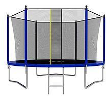 Батут с сеткой и лестницей Jumpy Comfort 10ft (300 см) (Синий)