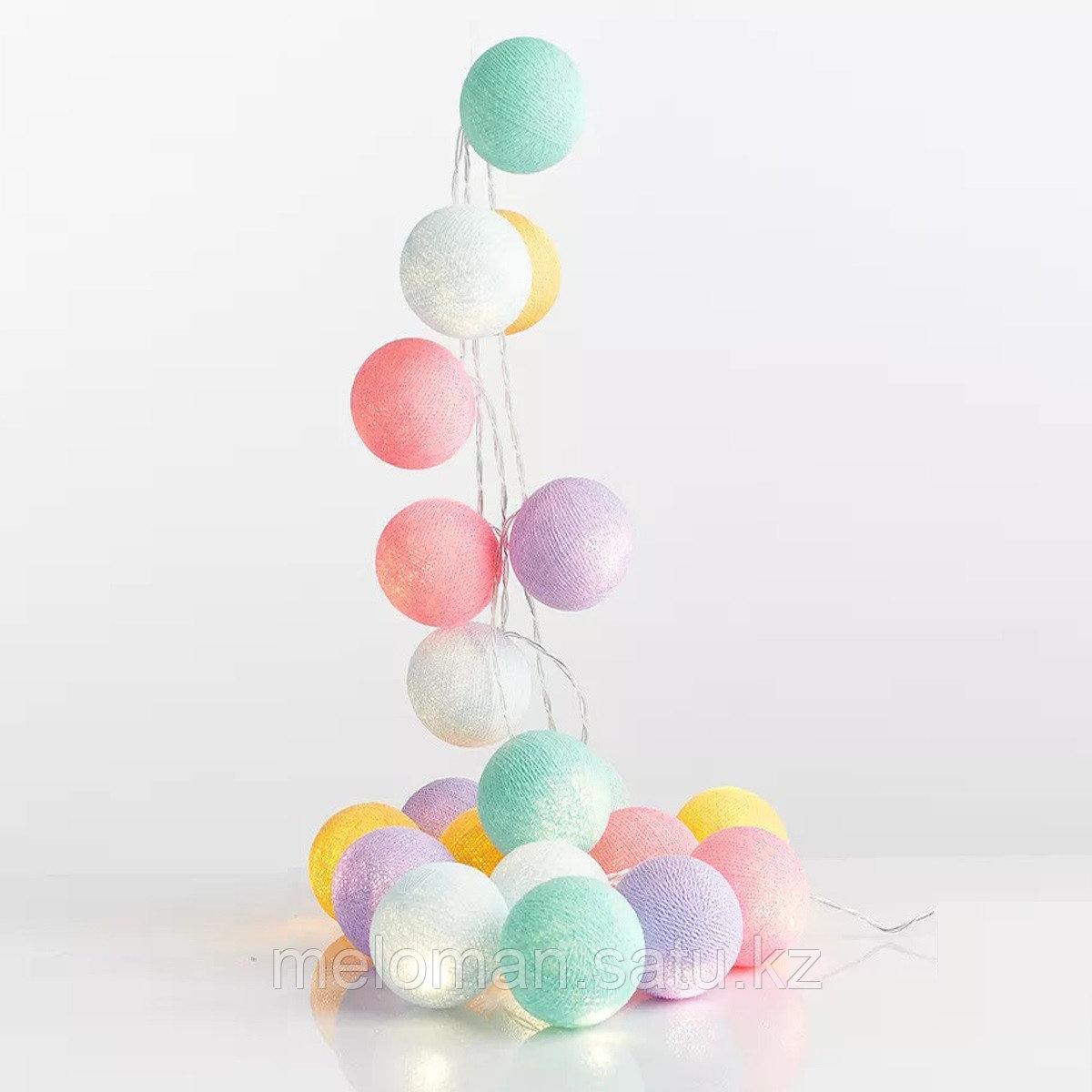 Гирлянда декоративная Парадайз 20 шаров/сеть - фото 3