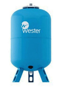 Бак расширительный WAV 500 Wester синий