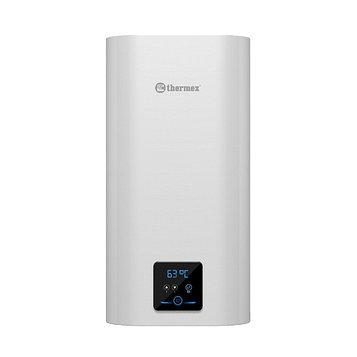 Водонагреватель Thermex Smart 30 V, накопительный, 2 кВт, 30 л, дисплей, УЗО, белый
