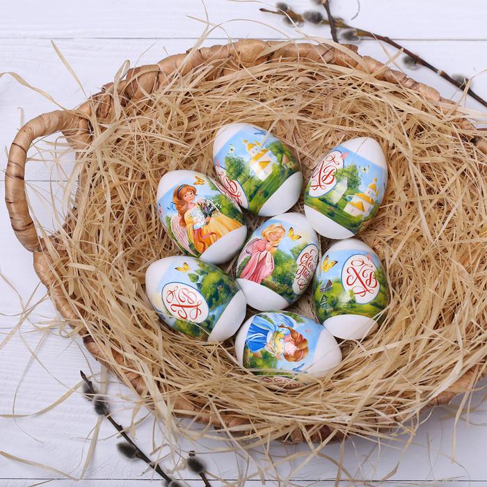 Термонаклейки на 7 яиц «Ангелочки»
