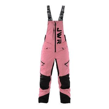 Полукомбинезон Jethwear JW с утеплителем, размер XS, женский, розовый