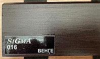 МДФ плинтус на ПВХ Венге 2400*16*80