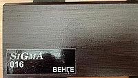 МДФ плинтус на ПВХ Венге 2400х100х16