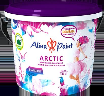 Краска водоэмульсионная Arctic 7 кг, фото 2