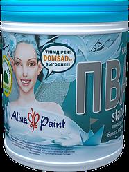 КЛЕЙ ПВА Alina Paint Standart 0.8 кг