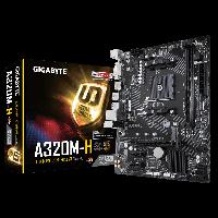 AMD AM4 A320 Gigabyte 2DDR4 microATX (GA-A320M-H), фото 1
