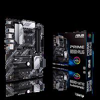 AMD AM4 B550 ASUS 4DDR4600 6SATA 2M.2.Raid HDMI DP ATX (PRIME B550-PLUS), фото 1