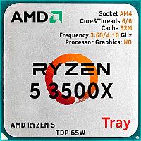 Ryzen 5 3500X, oem/tray (100-000000158)