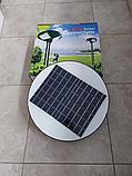 Светильник парковый уличный на солнечной батарее 120 ватт. Светильник на опору для аллей, светильники для улиц, фото 3