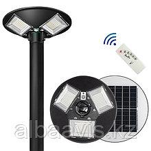 Светильник парковый уличный на солнечной батарее 120 ватт. Светильник на опору для аллей, светильники для улиц